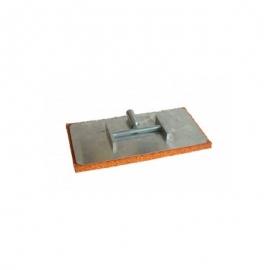 Терка губчатая алюминиевая 400*200*20мм+стержень удлинит.